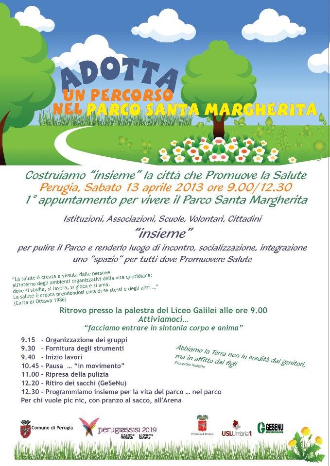 Adotta un percorso nel parco di Santa Margherita @ Parco di Santa Margherita | Perugia | Umbria | Italia